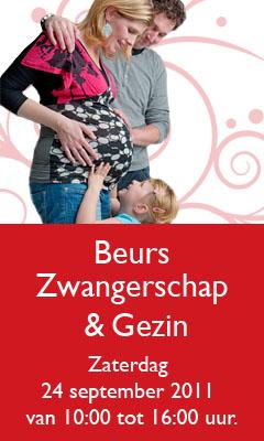 banner beurs zwangerschap en gezin