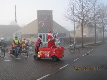 Sinterklaas op de stint