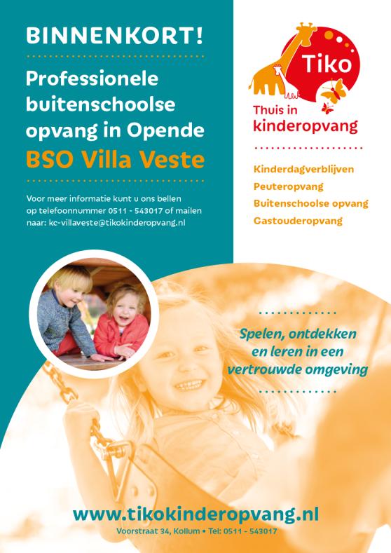 A5 Flyer Villa Veste VZ
